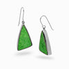 Uvarovite Garnet Drop Earrings