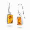 Amber Drop Earrings