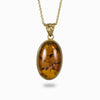 Amber Pendant from the Midas Touch Collection