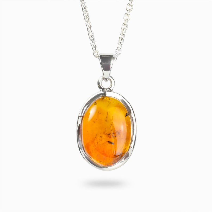Amber With Insect Pendant
