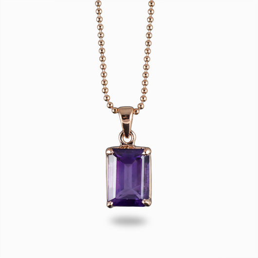 Amethyst Pendant from the Midas Touch Collection