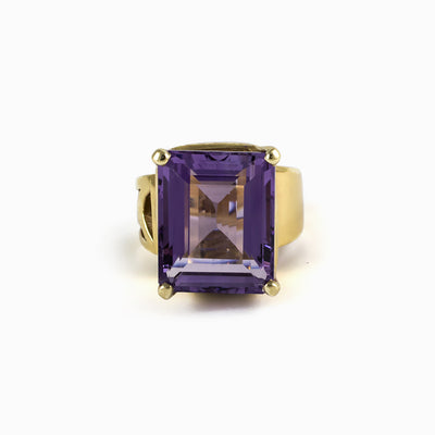 Amethyst Ring from the Midas Touch Collection