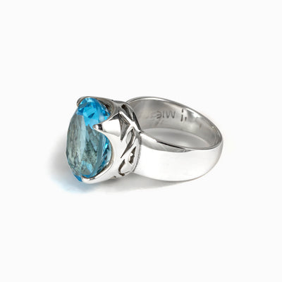 Blue Topaz Ring