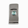 Blue Topaz Money Clip