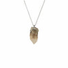 Candle Quartz Point Pendant