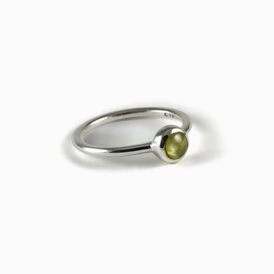 Cat's Eye Green Tourmaline Ring