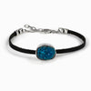 cavensite leather bracelet