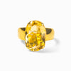 Vermeil Citrine Ring