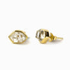 Vermeil Herkimer Diamond Earrings