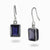 Iolite Drops Earrings