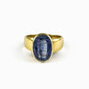 Kyanite Ring from the Midas Touch Collection