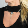 Labradorite Choker on Model