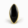 Black Obsidian Ring from the Midas Touch Collection