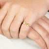 Peridot Ring on Model