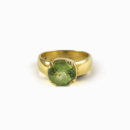 Peridot Ring from the Midas Touch Collection