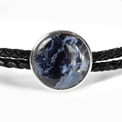 Pietersite Leather Choker