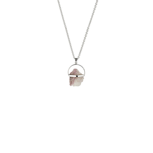 Pink Tourmaline In Quartz from the Melody Collection