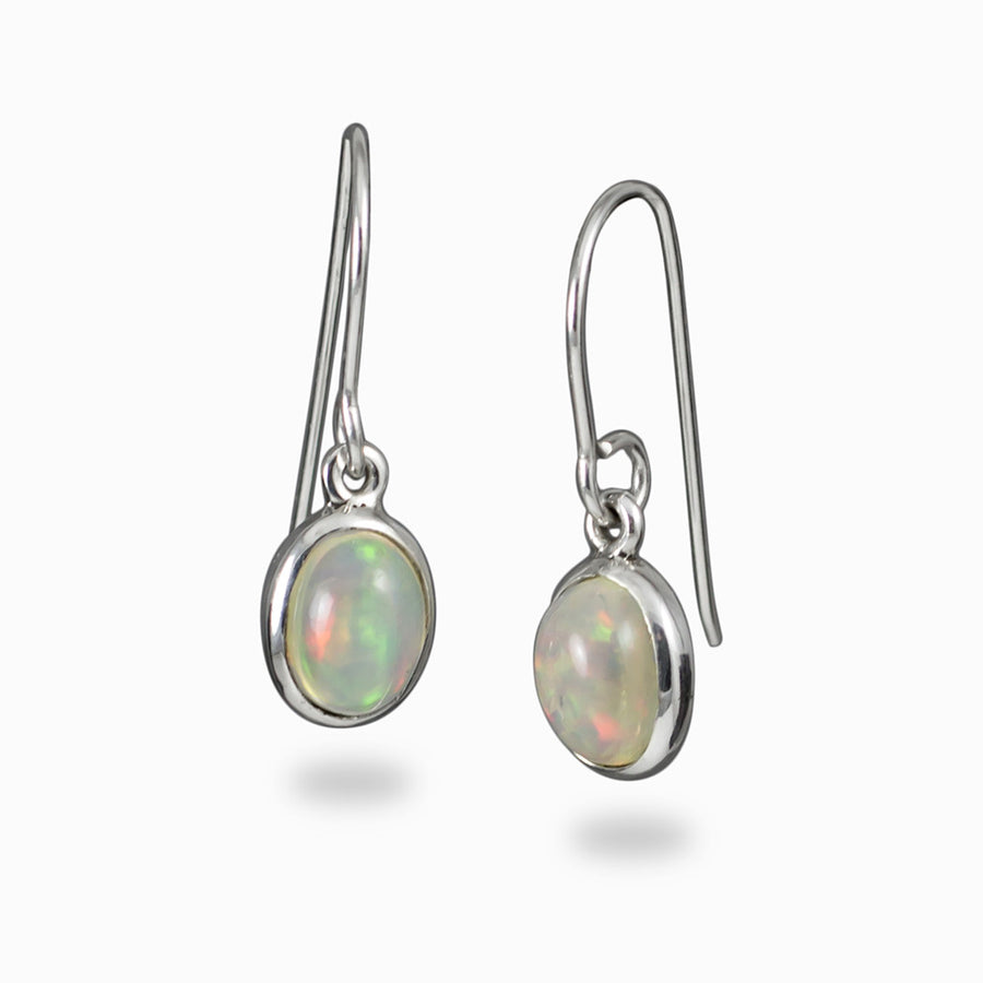 Precious Opal Earrings