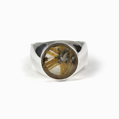 Rutilated Star Quartz Ring