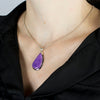 Sugilite Pendant on Model