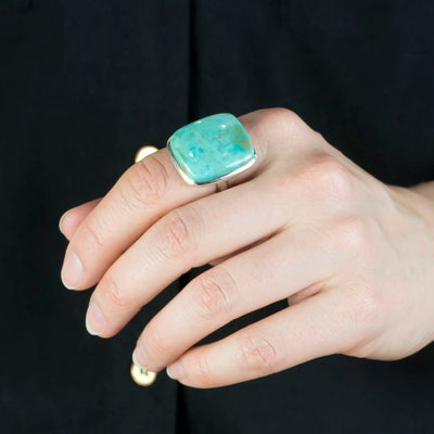 Campo Frio Turquoise Ring on Model