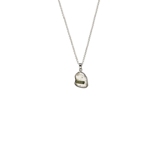 Uvite Crystal in Quartz Matrix Pendant from the Melody Collection