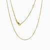 14k Yellow Gold Vermeil Belcher Oval Chain