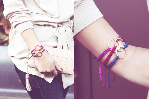 FREE set of two adult friendship bracelets with orders over $50!
