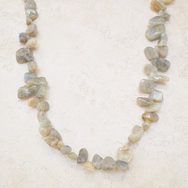 Chunky Labradorite Necklace
