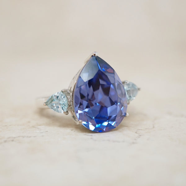Swarovski Crystal Cocktail Ring