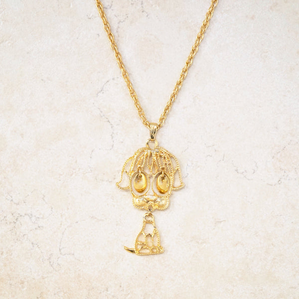 Puppy Dog Eyes Necklace