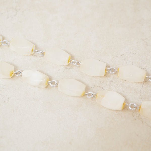 Vintage Quartz Gemstone Necklace, 1970s