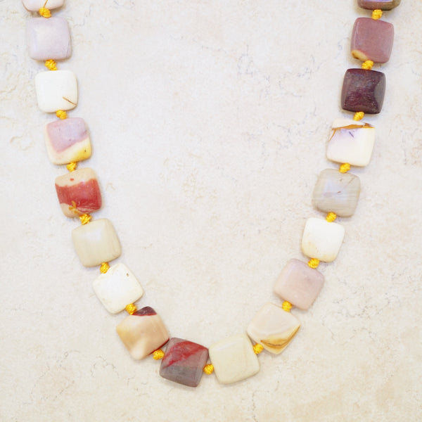 Mookaite Gemstone Necklace