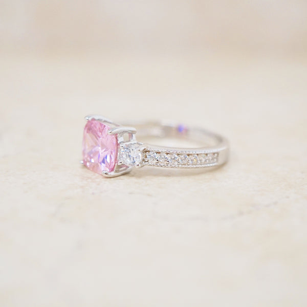 Sterling Silver & Swarovski Crystal Ring