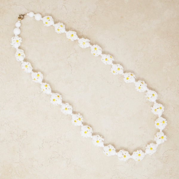 Vintage Daisy Chain Necklace, 1960s