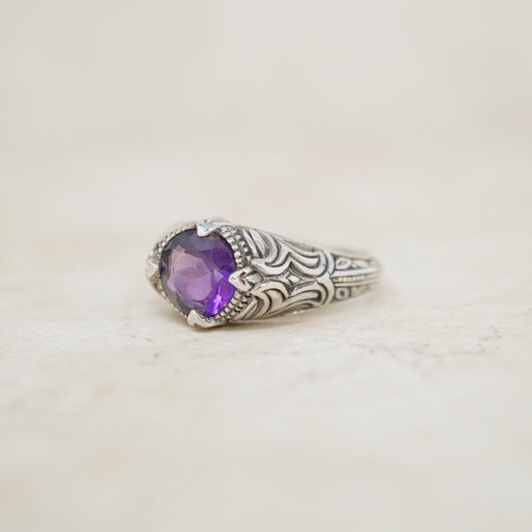 Sterling Silver Ornate Ring