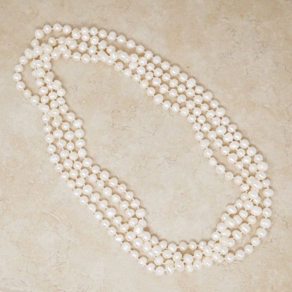 "100"" Cultured Pearl Necklace"