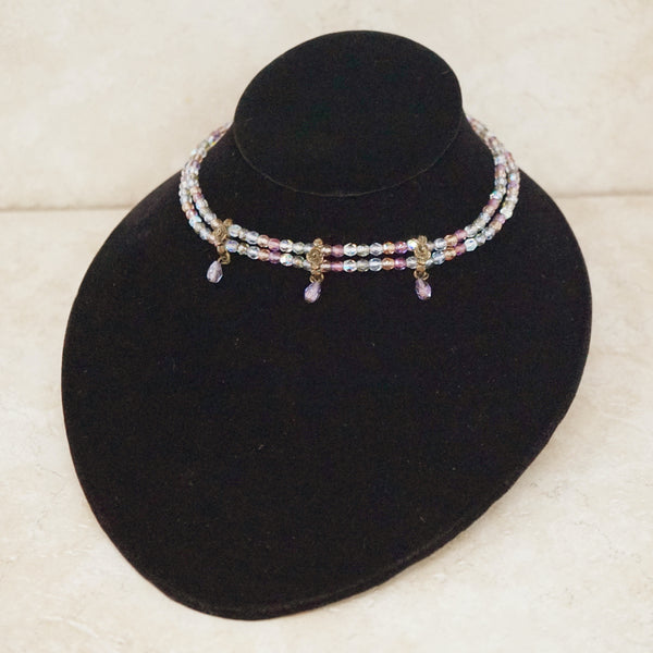 Edith Beaded Choker Necklace