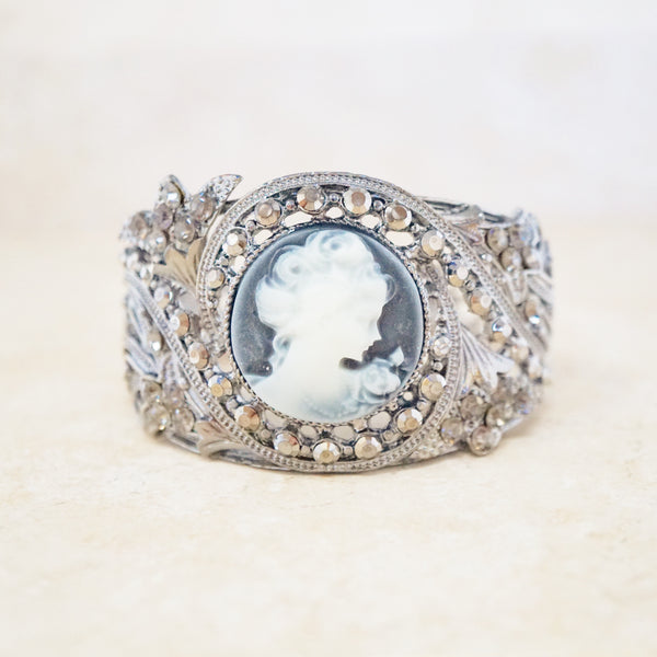 Cameo Statement Bracelet