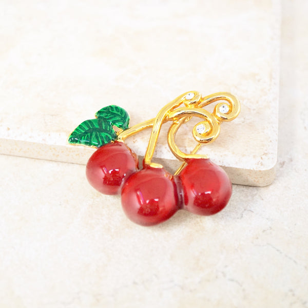 Cherry Crush Brooch