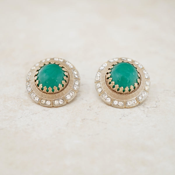 Dorothy Domed Statement Earrings