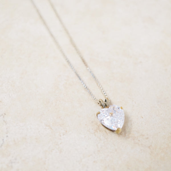Sterling Silver Grace Necklace