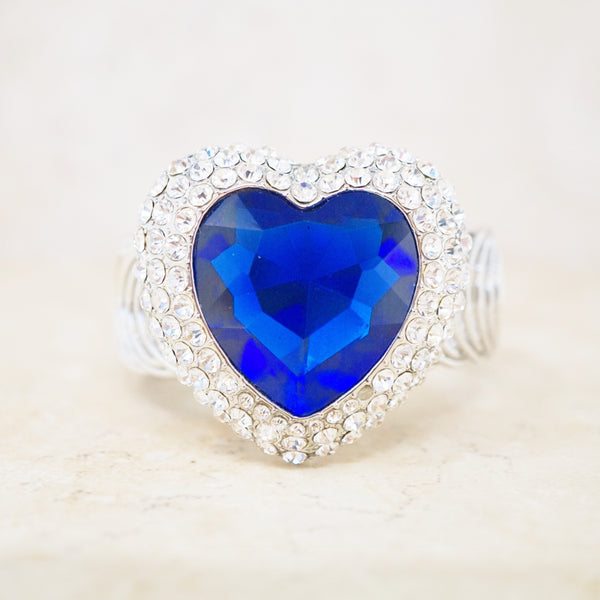 Swarovski Heart Statement Bracelet