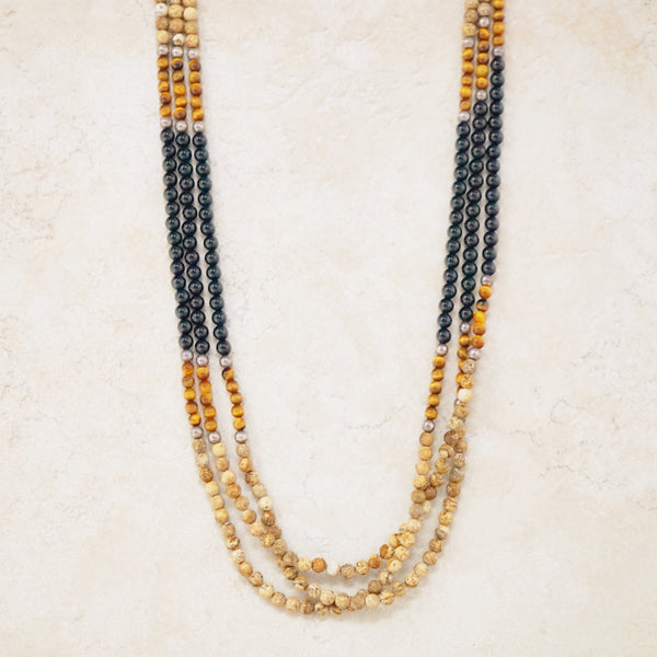 Ami Gemstone Necklace