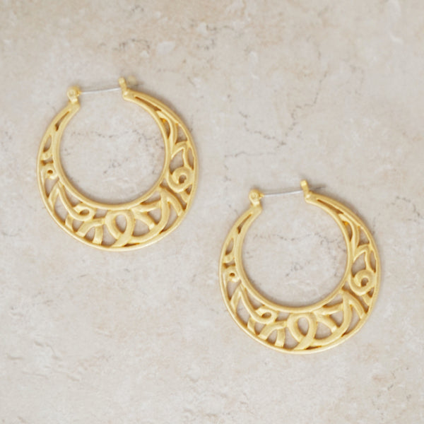Ophelia Hoop Earrings