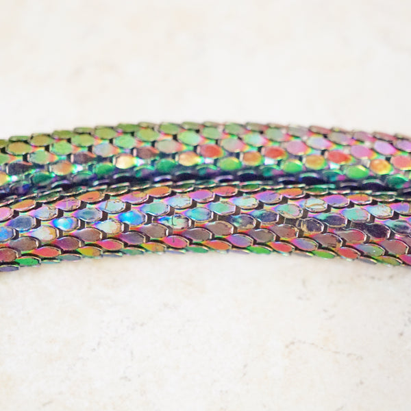 Iridescent Snake Belt / Necklace