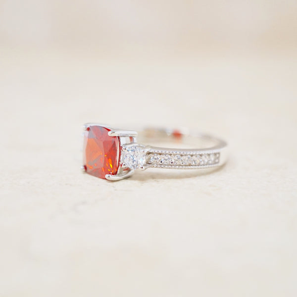 Sterling Silver and Swarovski Crystal Ring