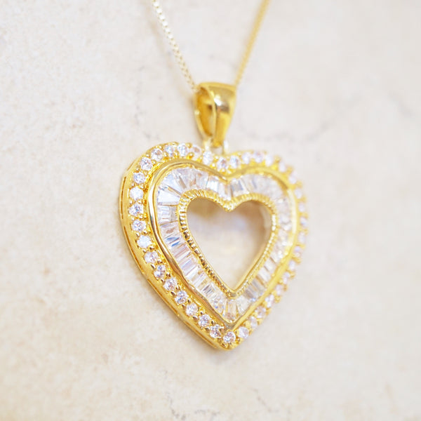 Gold Vermeil Sweetheart Necklace