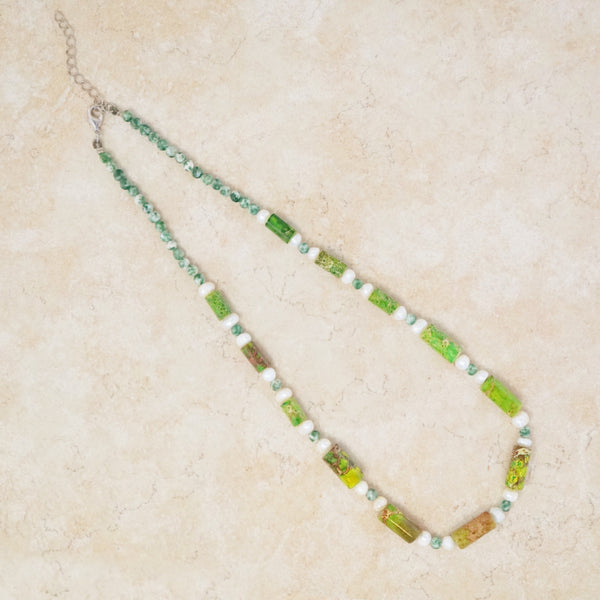 Moss Jasper Necklace