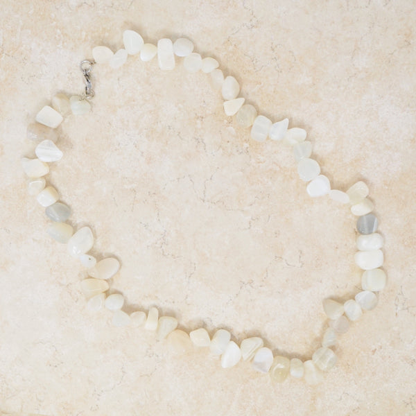 Chunky Moonstone Necklace